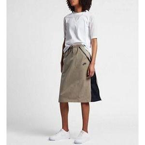 Nike Sportswear Tech Hypermesh Skirt Size XL